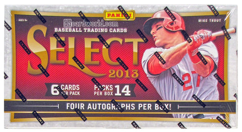 2013 Panini Select Baseball Hobby Box Sealed