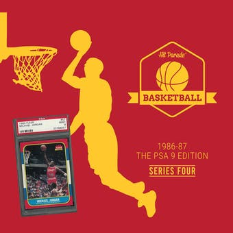 2019/20 Hit Parade Basketball 1986-87 Jordan PSA 9 RANDOM TEAM 2 BOX BREAK #193