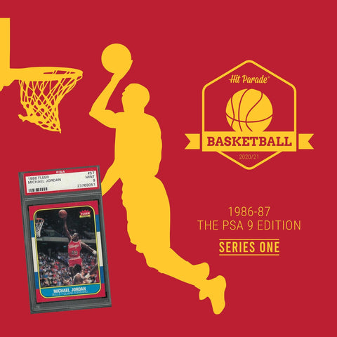 2020/21 Hit Parade Basketball 1986-87 Jordan PSA 9 RANDOM TEAM BOX BREAK #258