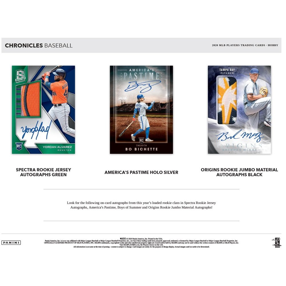 2020 Panini Chronicles Baseball Hobby Box - RANDOM TEAM BOX BREAK #178