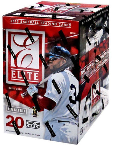 2015 Panini Elite Baseball - RANDOM TEAM 2 BOX BREAK #155