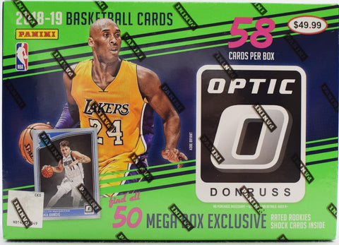 2018/19 Panini Donruss Optic Basketball 58ct Mega Box - RANDOM TEAM BREAK #144