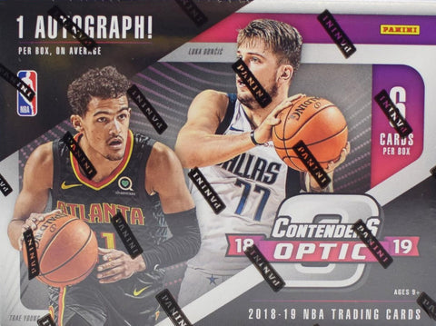 2018/19 Panini Contenders Optic Basketball - PYT BOX BREAK #20