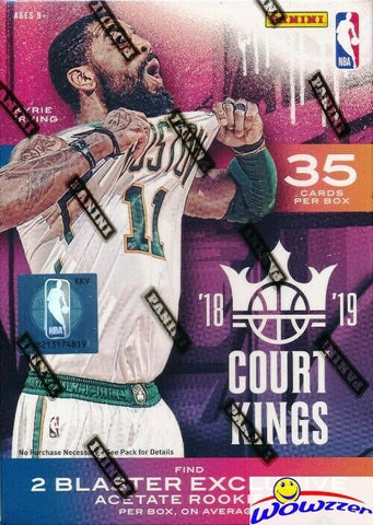 2018/19 Panini Court Kings Basketball Blaster Box Factory Sealed