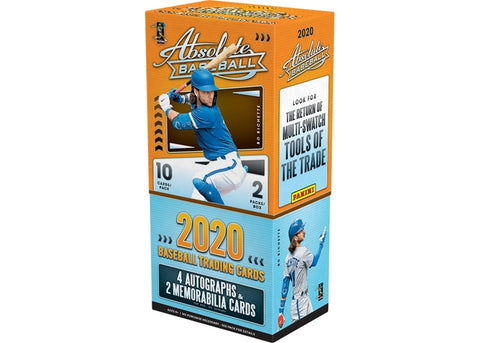 2020 Panini Absolute Baseball Hobby Box - RANDOM TEAM BOX BREAK #166