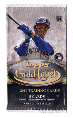 2019 Topps Gold Label Pack
