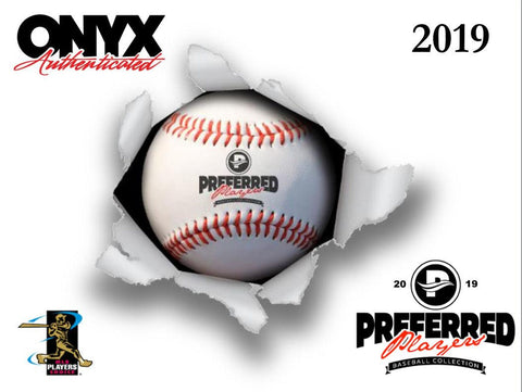 2019  Onyx Preferred Player Collection Auto Baseball - Random Division BOX BREAK #27