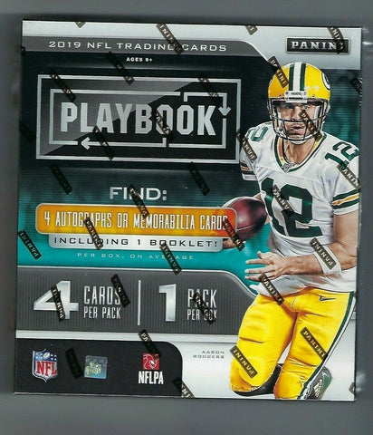 2019 Panini Playbook - RANDOM TEAM BREAK #57