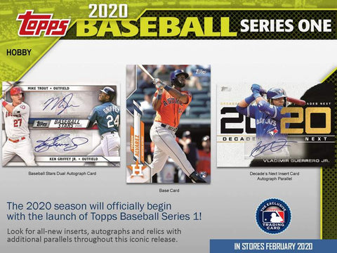 2020 Topps Series 1 - RANDOM TEAM CASE BREAK #58