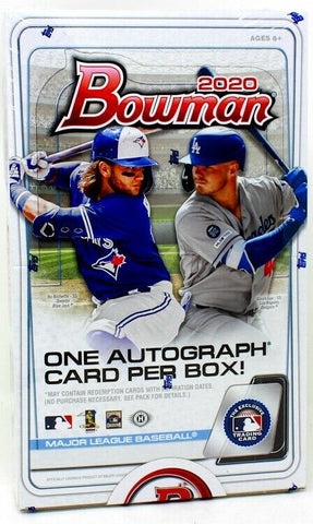 2020 Bowman Baseball - RANDOM TEAM BOX BREAK #135