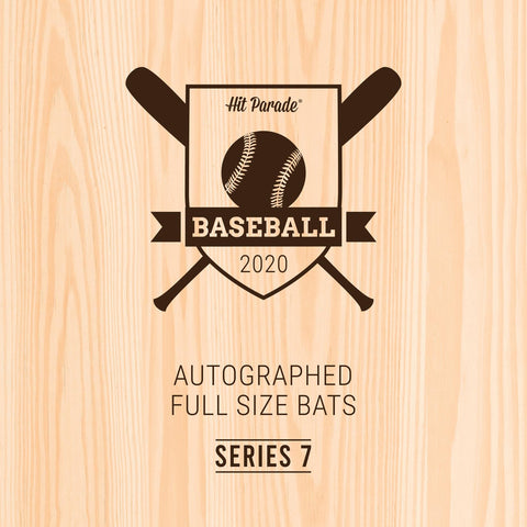 2020 Hit Parade Autographed Baseball Bat Hobby Box - Series 7 - RANDOM DIVISION BREAK #115
