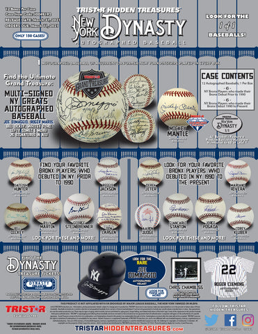 2021 HT Autograph Baseball New York Yankees Dynasty - Random LETTER BOX BREAK #248