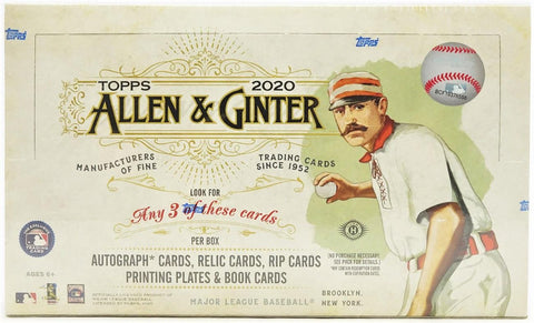 2020 Topps Allen & Ginter Baseball - Factory Sealed