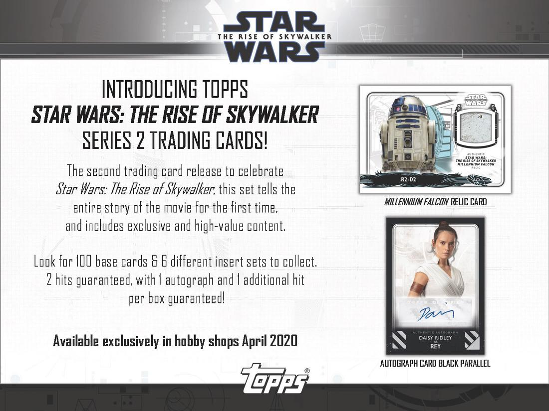 2020 Topps Star Wars Episode 9 The Rise of Skywalker Series 2 - BREAK #174