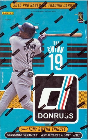 2015 Panini Donruss Baseball Hobby Box - Factory Sealed