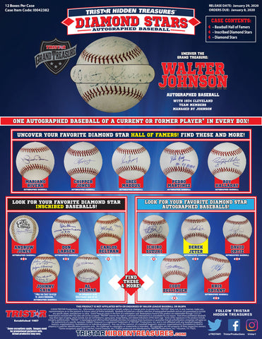 2020 Tristar HT Auto Baseball Diamond Stars - Random Division BOX BREAK #124