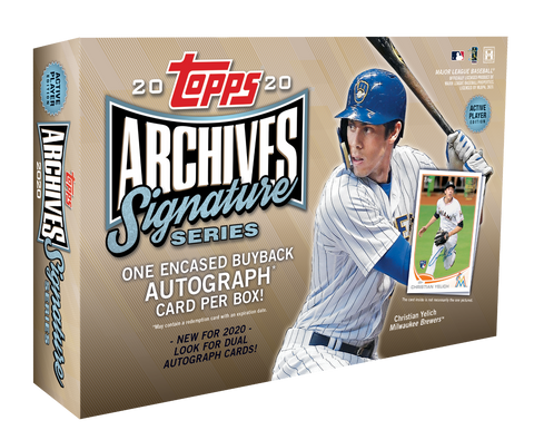 2020 Topps Archive Signature Series