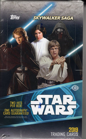 2019 Topps Star Wars Skywalker Saga - BREAK #61