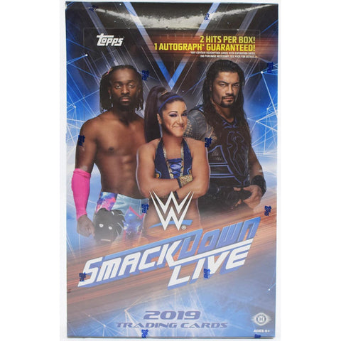 2019 WWE Smackdown Live - BREAK #52