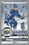 Young Gun Chase Mixer Upper Deck Hockey 2018/19/20 - RANDOM TEAM 3 BOX BREAK #209