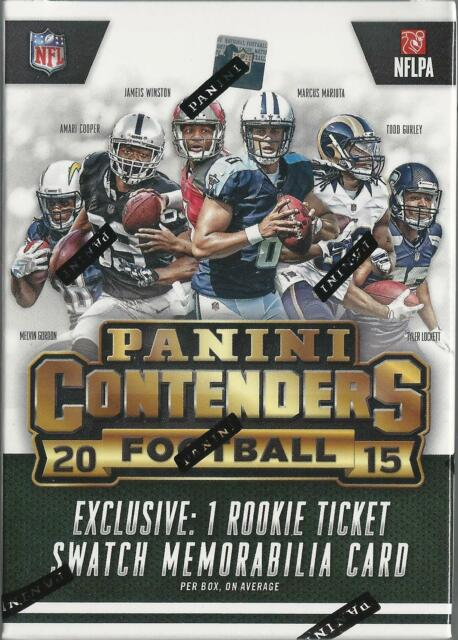 2015 Panini Contenders Football 5ct Blaster Box Factory Sealed