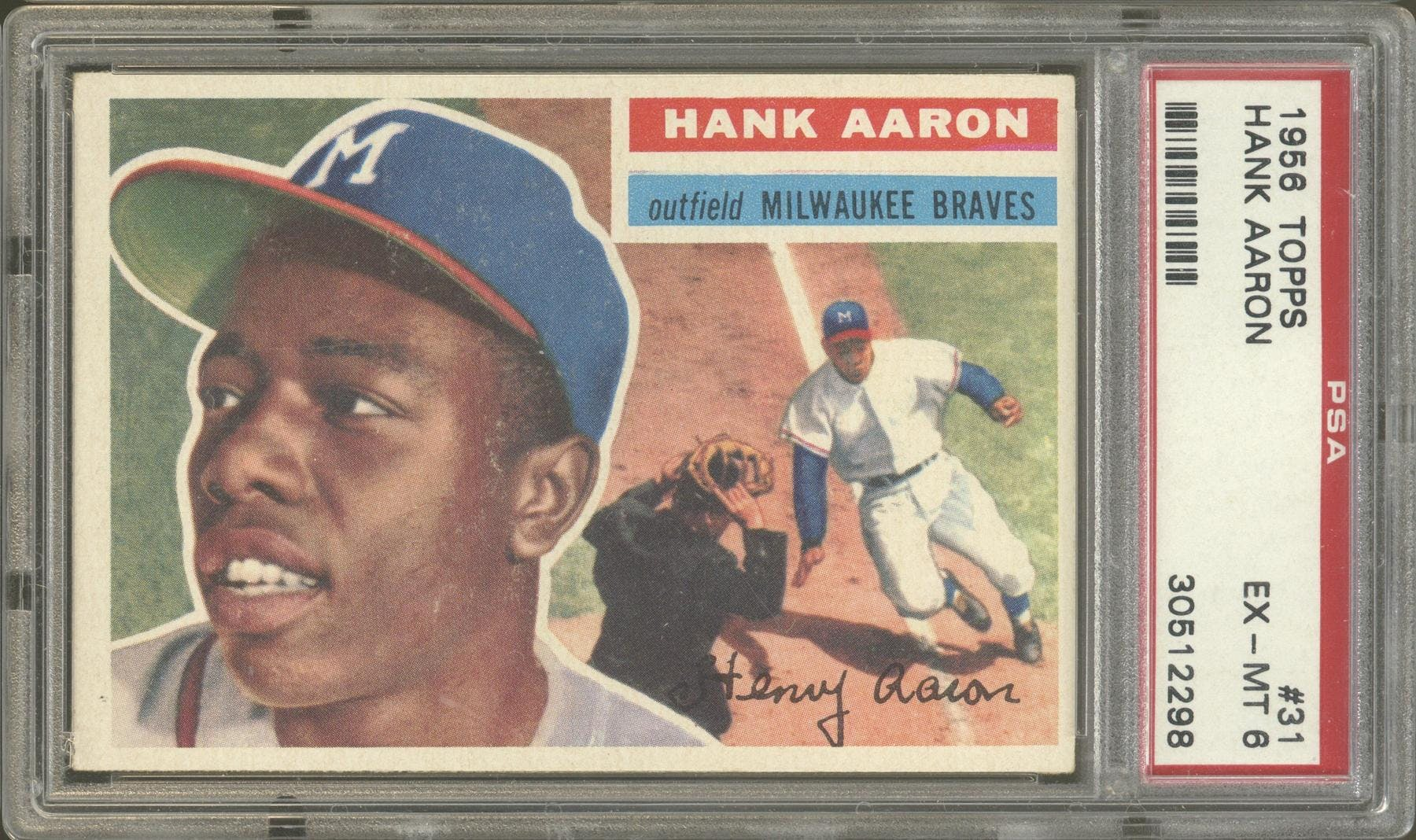 2020 Hit Parade 1956 Topps Baseball Graded Edition - Random Letter BOX BREAK #176