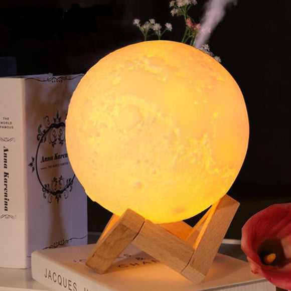 Lampe humidificateur