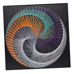 "Kit String Art-"" Lune bleue"""