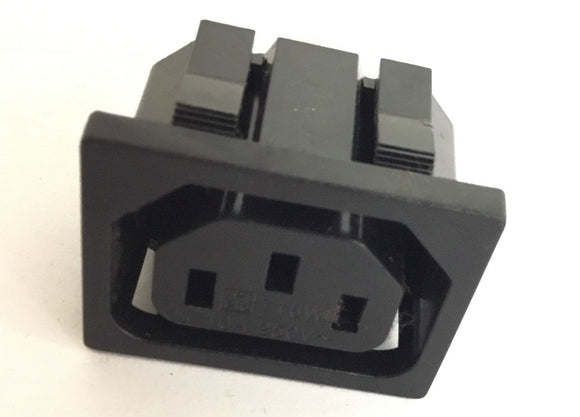 Cybex 600A Elliptical Power Entry Socket Courtesy Outlet - fitnesspartsrepair