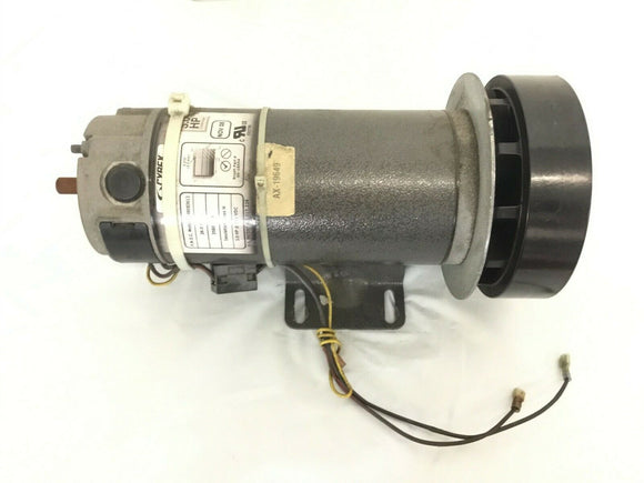 Cybex CX 445T (After SN C1003) Treadmill DC Drive Motor w/Flywheel AX-19649 - fitnesspartsrepair