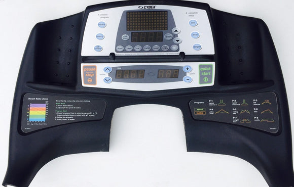 Cybex LCX - 425T Treadmill Display Console Panel 100300 - fitnesspartsrepair