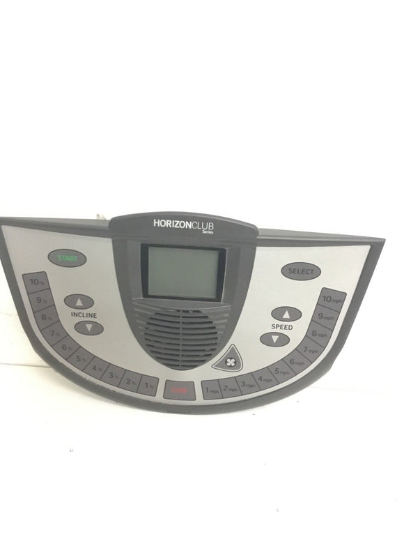Horizon Fitness Smooth CST3 T52 Treadmill Display Console Panel w/ Fan 013600-DC - fitnesspartsrepair