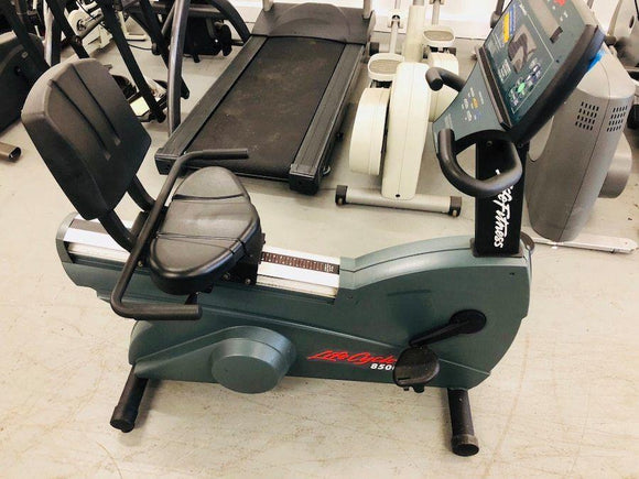 Life Fitness 8500 Commercial Recumbent Bike Refurbished - fitnesspartsrepair