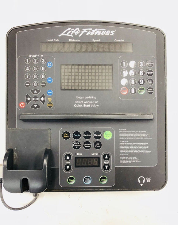 Life Fitness - CLSX Integrity Elliptical Display Console AK86-00017-0201 - fitnesspartsrepair