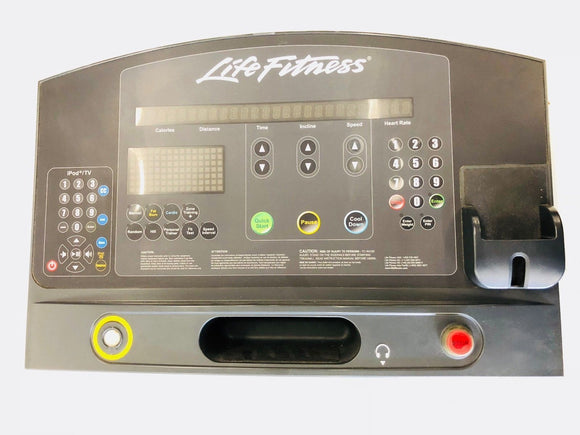 Life Fitness Integrity Series Treadmill Console Board & Panel AK86-00008-0201 - fitnesspartsrepair