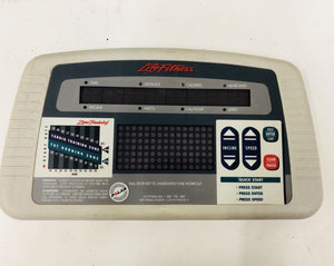 Life Fitness TR5500 TR 5500 Treadmill Display Console Control Panel Screen - fitnesspartsrepair