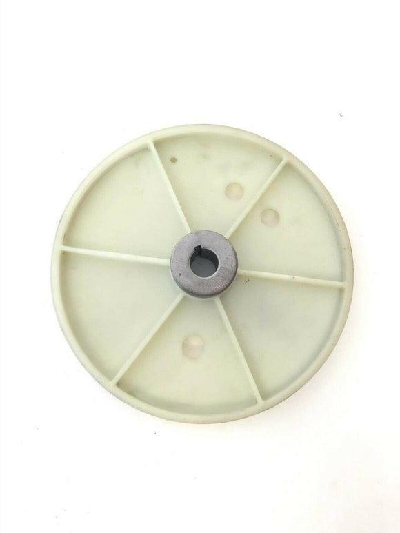 Life Fitness Upright Stepper Elliptical Flywheel Pulley 0K35-01186-0007 - fitnesspartsrepair