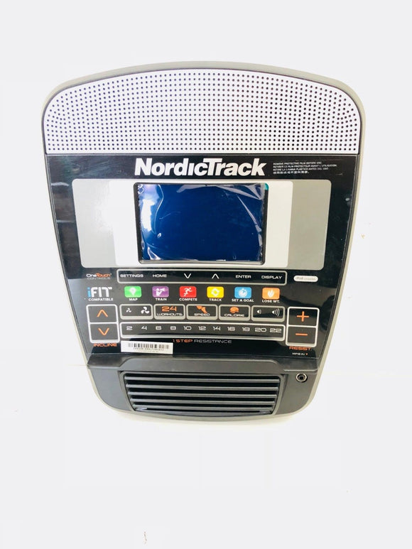 NordicTrack E7.7 990 Pro Elliptical Display Console Assembly ELS069913 350385 - fitnesspartsrepair