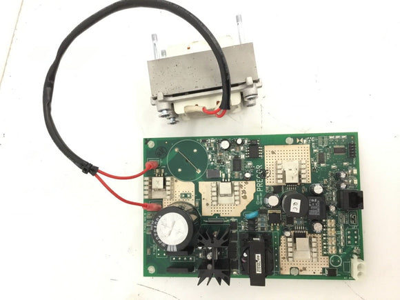 Precor Bike Motor Controller Lower Board With Transformer 49445-102 49445-101 - fitnesspartsrepair