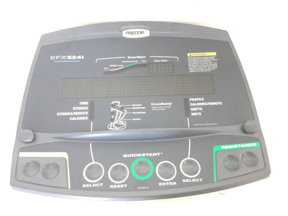 Precor C524i EFX C 524i Elliptical Display Console 48015-101 PPP000000045392405 - fitnesspartsrepair