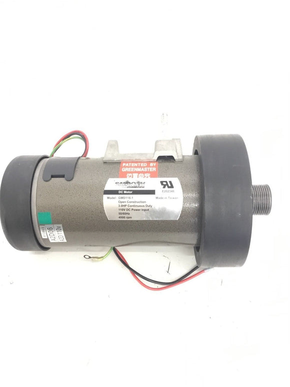 Smooth Fitness 9.25X Treadmill 3.0HP DC Drive Motor GMD118-1 - fitnesspartsrepair