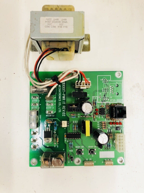 Stex Treadmill 8020T Lower Power Supply Board + Motor Choke Small Transformer - fitnesspartsrepair