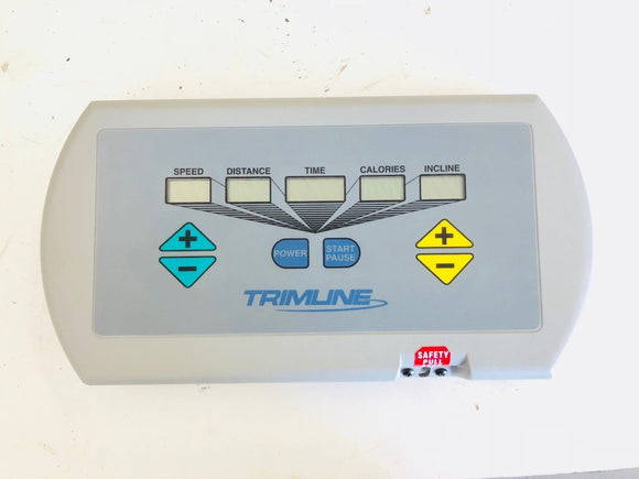 Trimline 2450 Schwinn Residential Treadmill Display Console M6495 057-0283-232F - fitnesspartsrepair