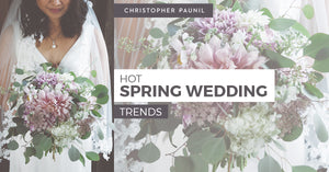 Hot Spring Wedding Trends