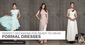 Perfect Occasions for Ready-to-Wear Formal Dresses