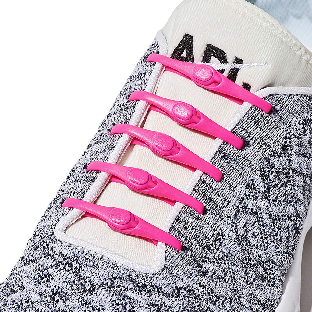 2.0 Performance One-Size Fits All No Tie Elastic Shoelaces ( 24 straps, Works in all shoes)