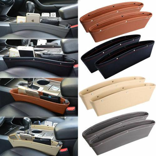 2 Packs Leather Car Organizer