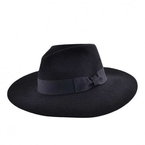 Gladwin Bond Daisy Winter Hat Black