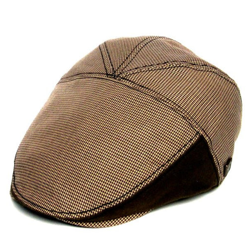 Dasmarca Deon Summer Flat Cap Brown