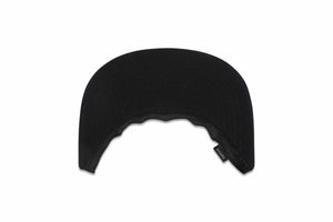 Fabric Visor Black